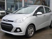 Cần bán Hyundai i10 1.0MT đời 2015, màu bạc, nhập khẩu chính hãng