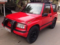 Cần bán gấp Chevrolet Tracker đời 1991, màu đỏ, nhập khẩu