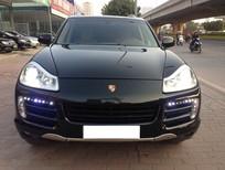 Bán Porsche Cayenne S đời 2008 full option, màu xanh đen, nội thất da bò, xe cực chất