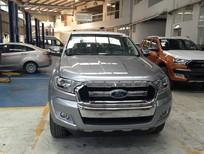 Ford Ranger XLT 4x4 MT 2017, màu xám, nhập khẩu, giá bán thương lượng