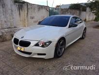 Xe BMW M6 2008 cũ màu trắng đang được bán