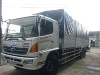 Bán xe Hino 3 chân thùng dài, xe tải Hino 16 tấn thùng dài FL8JTSL trả góp, giá rẻ