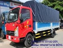 Bán xe tải Veam vt260 2 tấn thùng dài 6m, xe tải veam 2 tấn chạy trong thành phố, bán xe trả góp