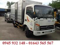 Xe Veam 2.5 tấn, xe Veam VT250 máy Hyundai, xe tải Veam VT250 2.5T thùng mui bạt