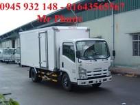 Xe Isuzu 1.9 tấn thùng kín Inox, xe tải Isuzu 1T9 nhập khẩu, Isuzu tặng 100% trước bạ