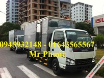 xe tải ISUZU 1.9T, ISUZU QKR 1t9, xe tải ISUZU 1.99 tấn thùng kín inox, mua xe ISUZU tặng 100% trước bạ