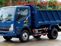 bán xe ben Veam VB650 6.5 tấn máy nissan, xe ben veam 6.5 tấn VB650 trả góp, giá rẻ