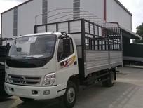 Xe tải Thaco Ollin500B 5 tấn, xe tải 5 tấn Ollin500b tải trọng 5 tấn MỚI thùng mui bạt/thùng kín, trả góp 80%