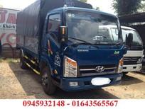 xe VEAM 2.4 tấn, xe VEAM VT252 2T4 thùng mui bạt, xe VEAM 2.4T