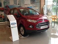 Ford EcoSport Titanium 1.5L AT mới tại Bắc Ninh, màu đỏ, giá SỐC giao xe ngay