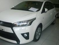 Xe Toyota Yaris 1.3E đời 2014, màu trắng, xe nhập, 679tr