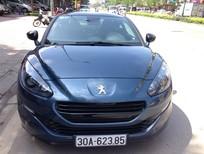 Mình cần bán Peugeot RCZ Coupe 1.6 xe nhập khẩu Châu Âu năm 2015, màu xanh, xe nhập số tự động