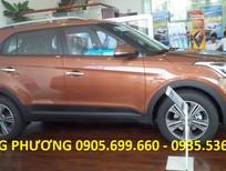 Bán ô tô Hyundai Creta 1.6 AT sản xuất 2018 màu nâu, nhập khẩu