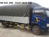 Cần bán xe tải 5 tấn thùng kín, xe tải 5 tấn thùng bạc, màu xanh lam, nhập khẩu