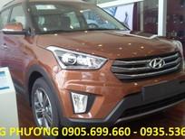 Bán xe Hyundai Creta 1.6 AT sản xuất năm 2018, màu nâu, nhập khẩu