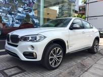 Bán xe BMW X6 xDrive 35i 2016 2017, màu trắng, nhập khẩu