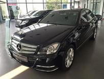 Cần bán gấp Mercedes C200 đời 2012, màu đen