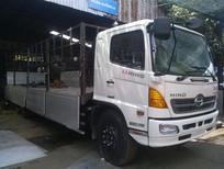 Bán xe tải Hino 16 tấn/16T thùng bạt 9.2m đời 2015, mua trả góp Hino 3 chân thùng bạt đời 2015