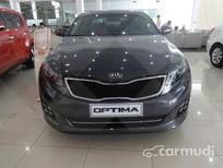 Cần bán Kia Optima AT đời 2015, màu đen, giá 898tr