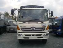 Xe tải Hino 3 chân 16 tấn/15 tấn thùng ngắn 7.6m, đại lý bán Hino FL8JTSA thùng bạt 7.6m đời 2015