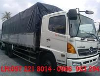 xe tải hino 3 chân thùng ngắn 7.6m 15 tấn/15t, xe tải hino FL8JTSA thùng 7.6m, 15 tấn/15t trả góp
