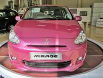 Bán Mitsubishi Mirage CVT 2016, màu hồng, nhập khẩu, 510 triệu