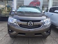Bán xe Mazda BT 50 2.2 MT FL đời 2017, màu nâu, nhập khẩu giá cạnh tranh- hotline 0932.50.55.22