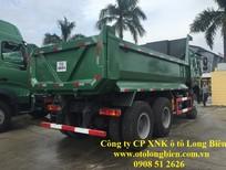 Xe ben 8 tấn, 3, 4 chân Howo 371 thùng 10-14m3 tại Long Biên, Hà Nội 2016