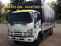 xe tải ISUZU 6.2 tấn - xe ISUZU 6 tấn thùng siêu dài - xe tải ISUZU cao cấp - hỗ trợ vay vốn