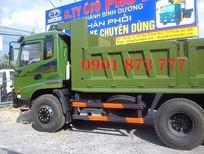 Đại lý xe tải tự đổ (Xe ben) Dongfeng Trường Giang 2 chân,3 chân 2 cầu thật,Ben Dongfeng 7T8 9T2 14T