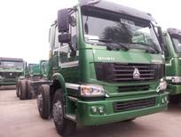Xe tải HOWO 4 chân, giá xe tải HOWO 4 chân nhập khẩu tải trọng chở 17.7 tấn