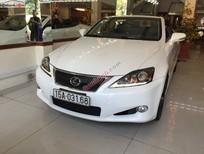 Bán ô tô Lexus IS 250C cũ màu trắng, nhập khẩu chính hãng