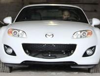 Mình cần bán xe Mazda MX 5 đời 2014, màu trắng, xe nhập