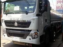 Đại lý xe tải bồn (xitec) chở xăng dầu Howo, Xitec Howo 20 khối, 21 khối, 22 khối chở xăng dầu