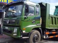 Bán xe ben Dongfeng Trường Giang 7.8 tấn 2 cầu thật, màu xanh
