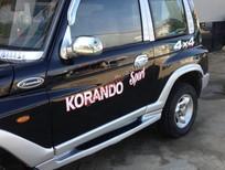 Cần bán gấp Daewoo Karando 1999, màu đen, xe nhập