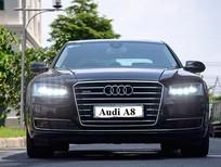 Bán ô tô Audi A8 Đà Nẵng, màu đen, nhập khẩu chính hãng, bán xe sang audi a8 miền trung