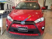 Cần bán xe Toyota Yaris 1.3E đời 2015, màu đỏ, nhập khẩu