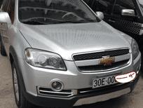 Cần bán lại xe Chevrolet Captiva LT model 2011, màu bạc, số sàn chính chủ cực đẹp