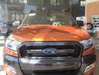Cần bán Ford Ranger Wildtrak 3.2 AT 4x4 đời 2018, màu cam, nhập khẩu nguyên chiếc, hỗ trợ trả góp tại Quảng Ninh
