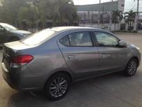 Cần bán xe Mitsubishi Attrage 2016, màu xám, nhập khẩu