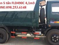 Bán xe ben 5 tấn trường hải Thaco Forland 2017 xe ben cửu long 5 tấn
