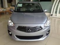 Bán xe Mitsubishi Attrage sản xuất 2016, màu bạc, nhập khẩu chính hãng giá cạnh tranh