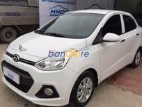 Cần bán xe Hyundai i10 1.0MT đời 2015, màu trắng, nhập khẩu nguyên chiếc, số sàn