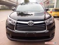 Bán xe Toyota Highlander LE đời 2015, màu đen