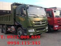 Bán xe tải ben (xe tải tự đổ) ben Faw 13.57 tấn, 2 cầu