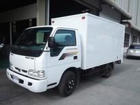 Xe tải Trường Hải, tải trọng cao chạy trong thành phố, miễn phí sơn thùng màu tiêu chuẩn