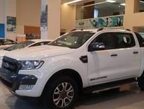 Bán Ford Ranger Wildtrak 3.2 2017 màu trắng, hỗ trợ 70% giá trị xe, thủ tục đăng ký, đăng kiểm