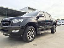 Bán Ford Ranger Wildtrak 2017 màu đen, giá tốt, hỗ trợ đăng ký, đăng kiểm cho khách hàng