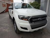 Bán Ford Ranger XLS AT2017 màu trắng, giá tốt, hỗ trợ đăng ký, đăng kiểm cho khách hàng